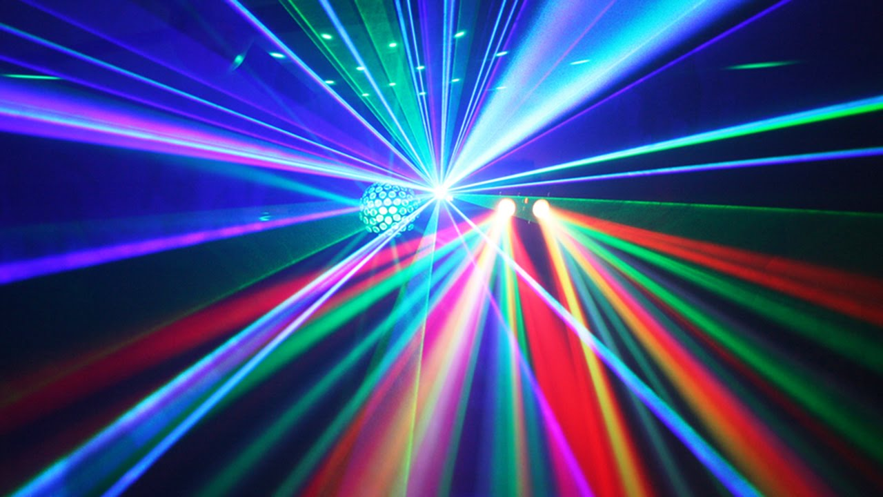 Party lighting set for hire in Surrey