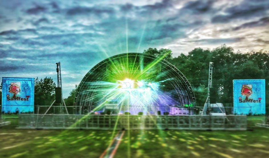 Outdoor Stage Hire | Sound & Light Hire Surrey